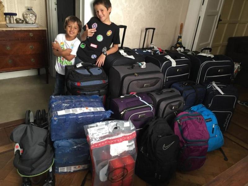 چکینگ چمدان | مسافرت