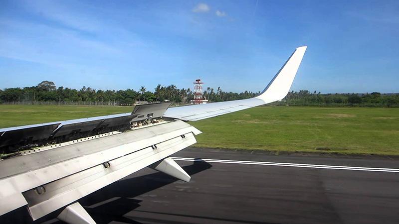 نمایی از فرودگاه مالزی