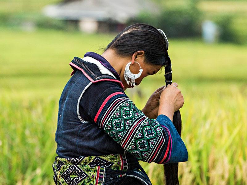 افراد جوان قبیله