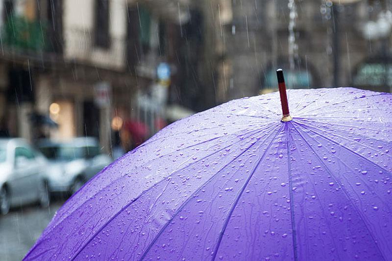 چتر در سفر