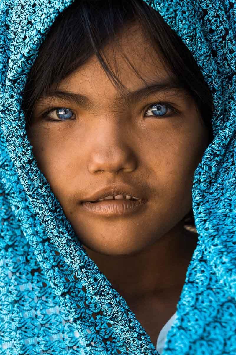دختری از قبیله