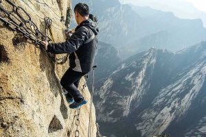 کوه هوآشان چین