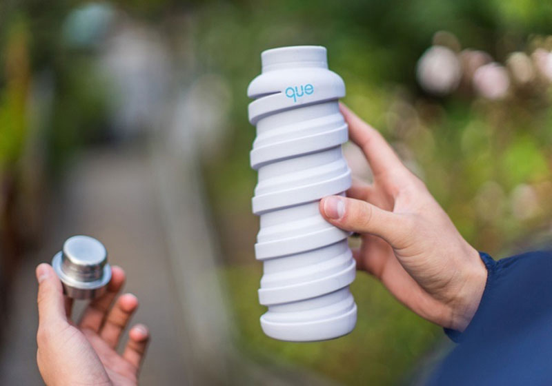 بطری آب تاشو   کاربردی ترین تجهیزات سفر