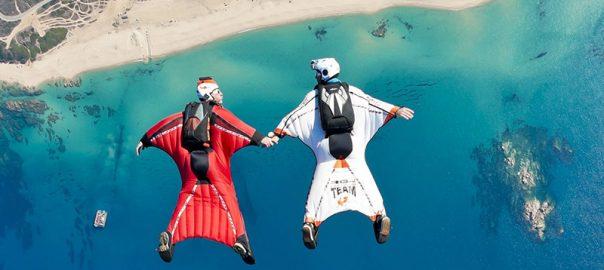 پرواز با لباس بالدار