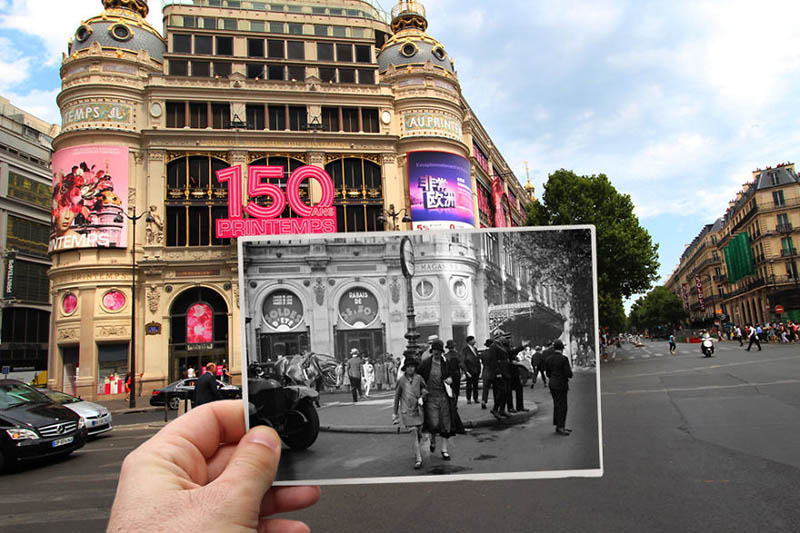 بلوار Haussmann | پاریس در گذشته