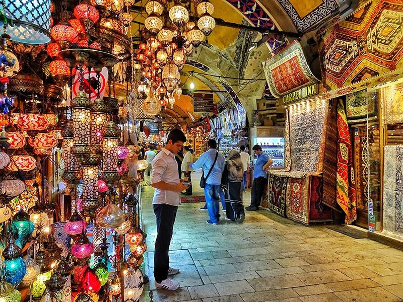 بازار بزرگ استانبول | بازارهای بزرگ دنیا