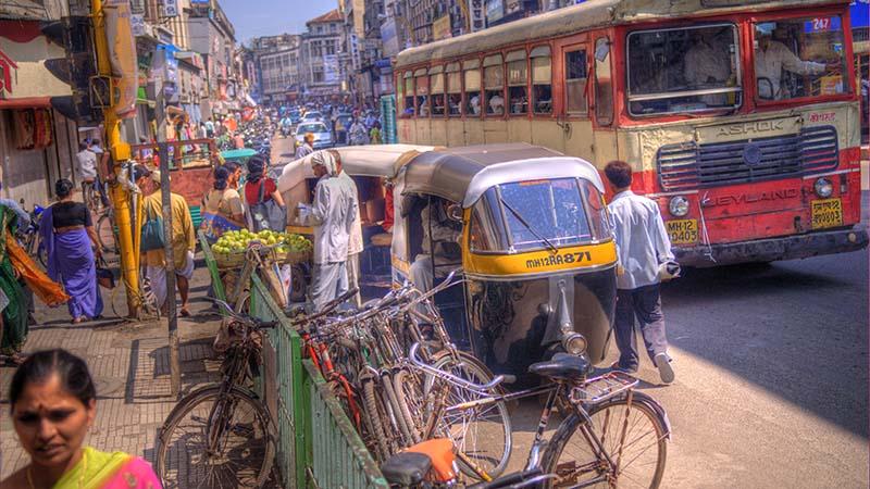 خیابان های هند | سفر به هند