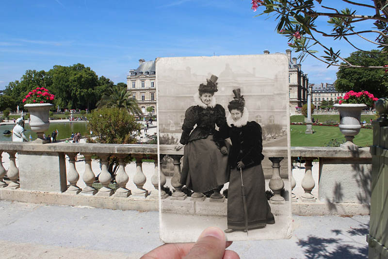 باغ لوکزامبورگ | پاریس در گذشته