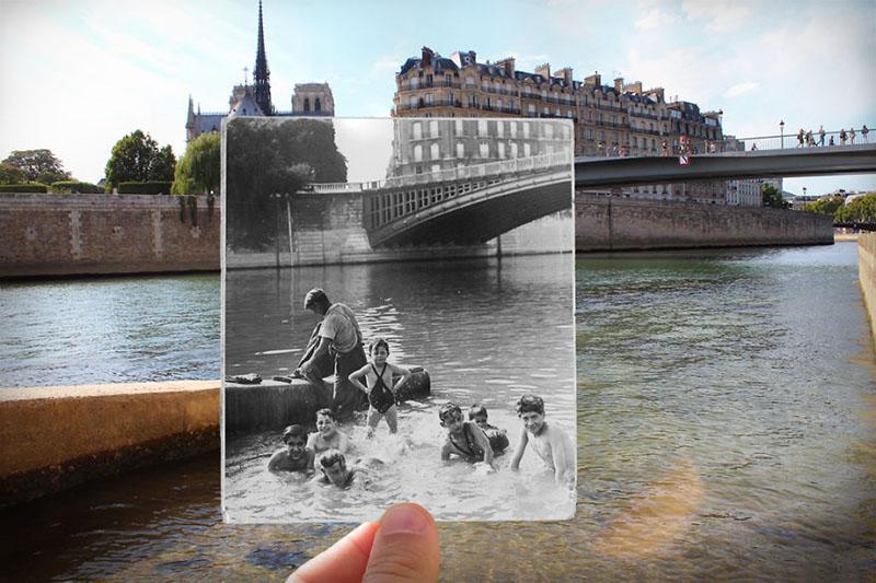 رودخانه La Seine | پاریس در گذشته