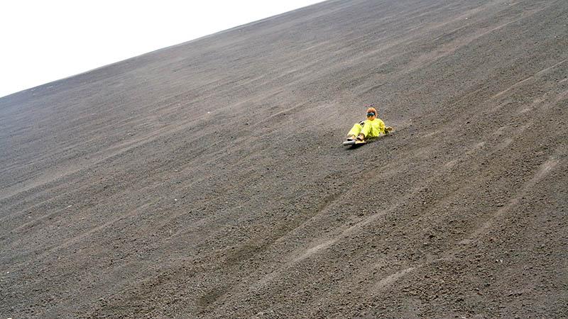 Cerro Negro | اسکی روی شن