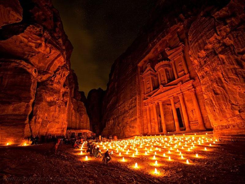 پترا در اردن   جاذبه های گردشگری