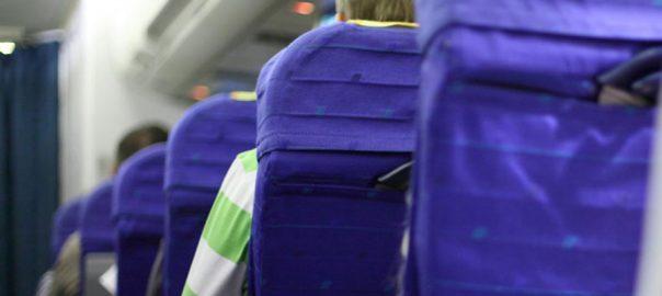 بیماری در هواپیما