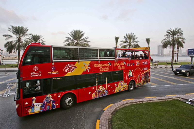 اتوبوس گردی در دبی