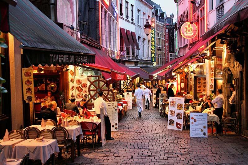 رستوران های شهر بروکسل