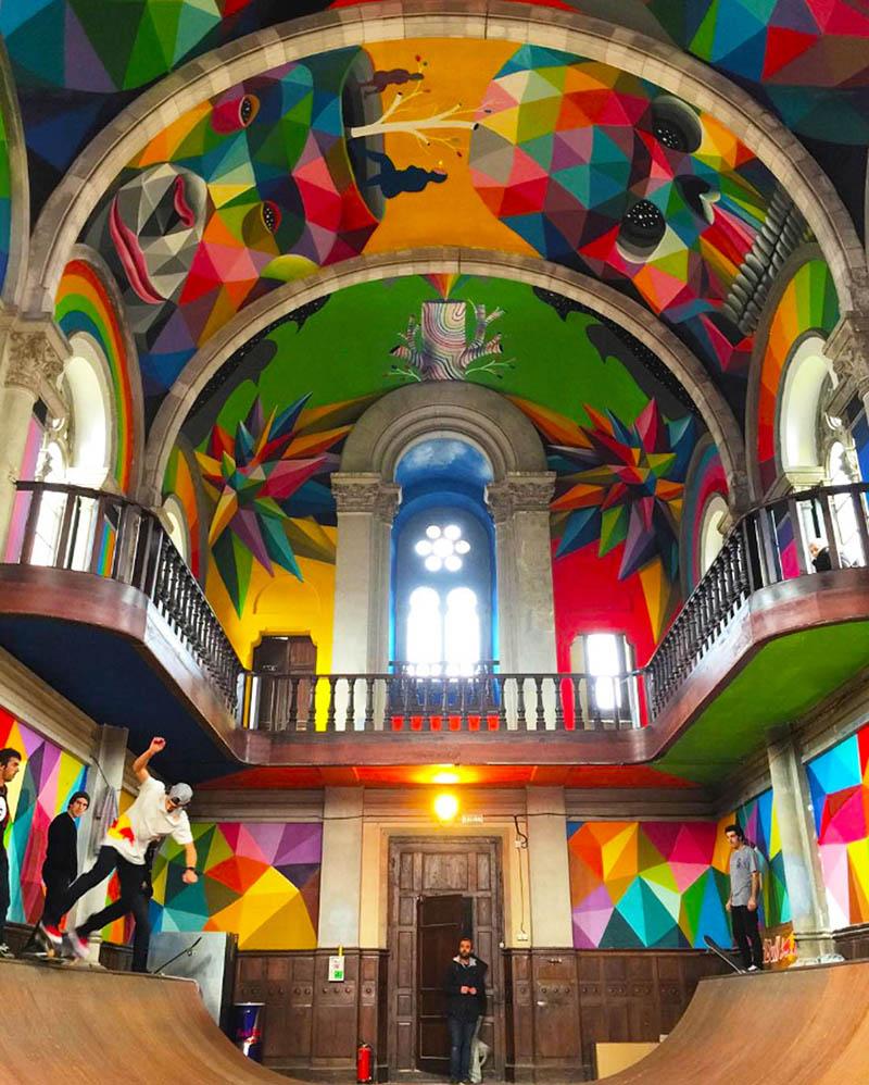 کلیسای سنت باربارا در اسپانیا