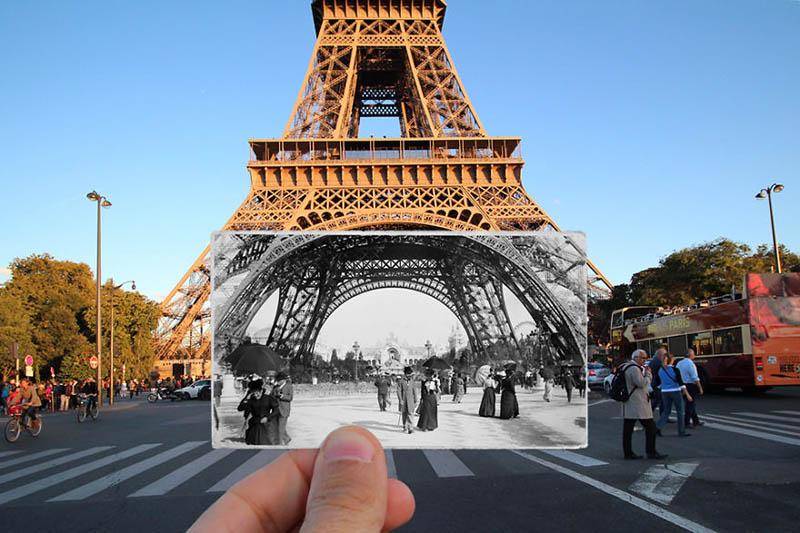 برج ایفل | پاریس در گذشته