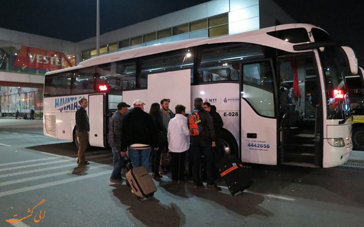 فرودگاه آتاتورک تا هتل