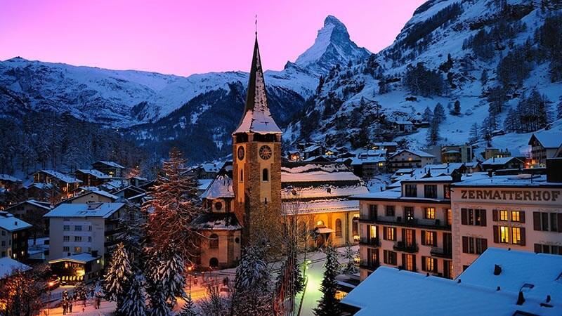 هتلی لوکس در سوییس