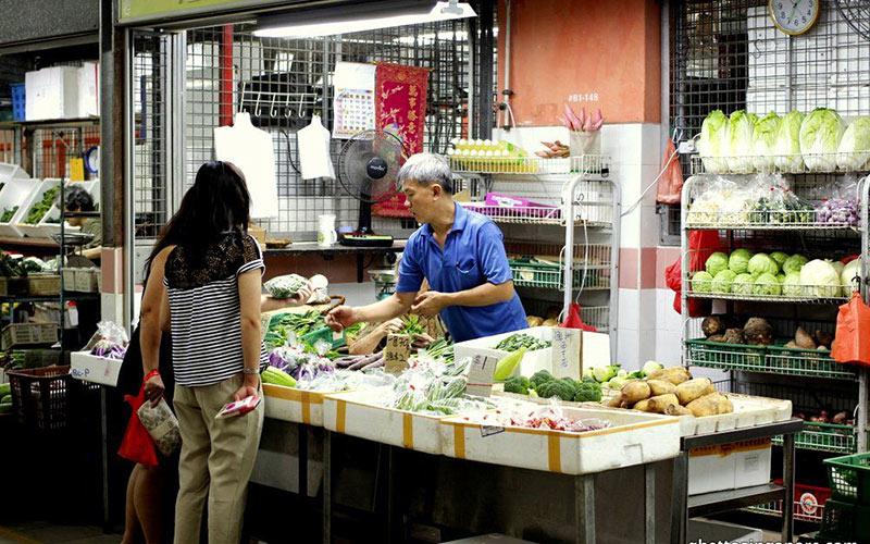 بازار کرتا آیر وت (Kreta Ayer Wet)، سنگاپور