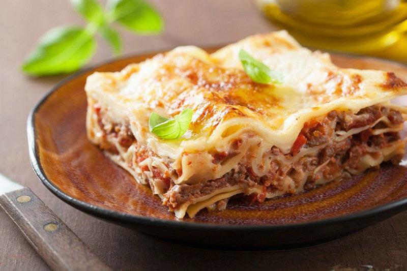 لازانیا   بهترین غذاهای ایتالیایی