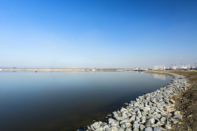 دریاچه بیوک شور درجمهوری آذربایجان