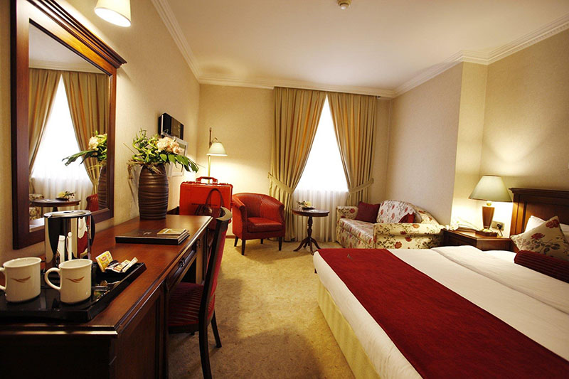 اتاقی از هتل لارس پارک استانبول