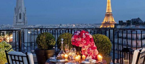 رمانتیک ترین رستوران های پاریس