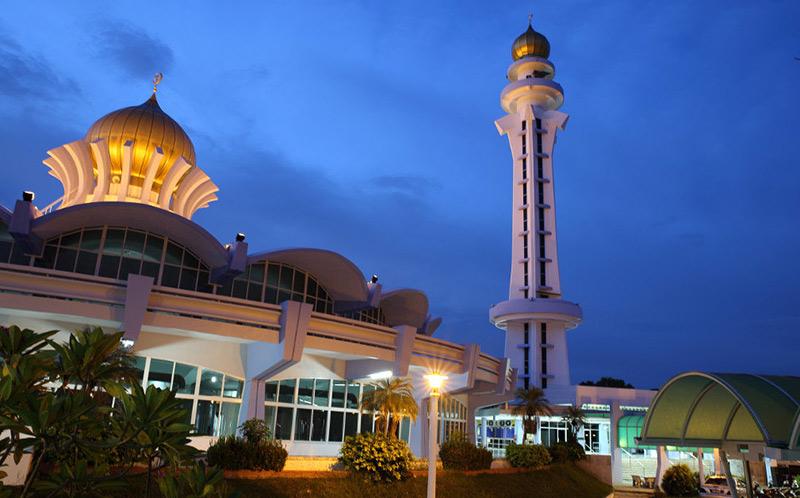 مسجد پنانگ مالزی