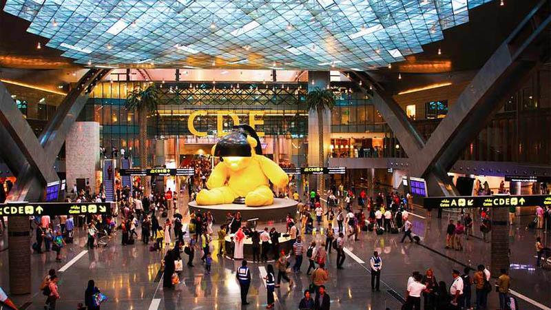 فرودگاه دوحه قطر
