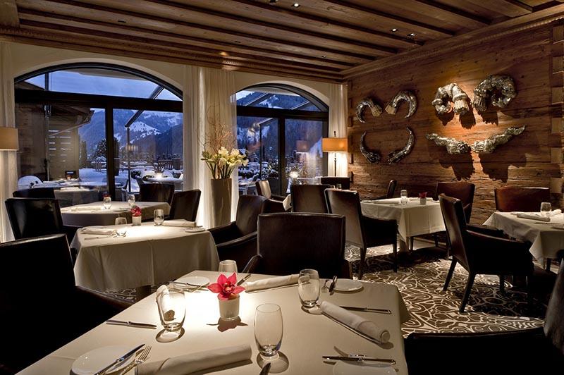 یک رستوران معمولی در سوییس