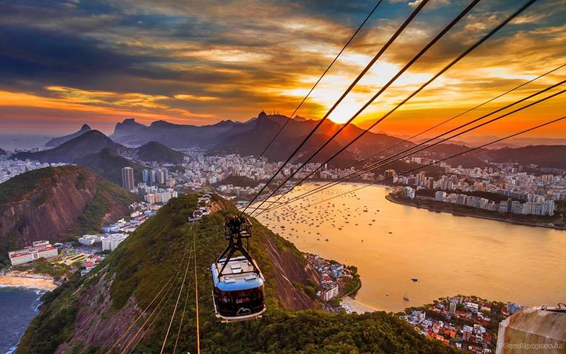 شهر ریو | جاذبه های گردشگری برزیل