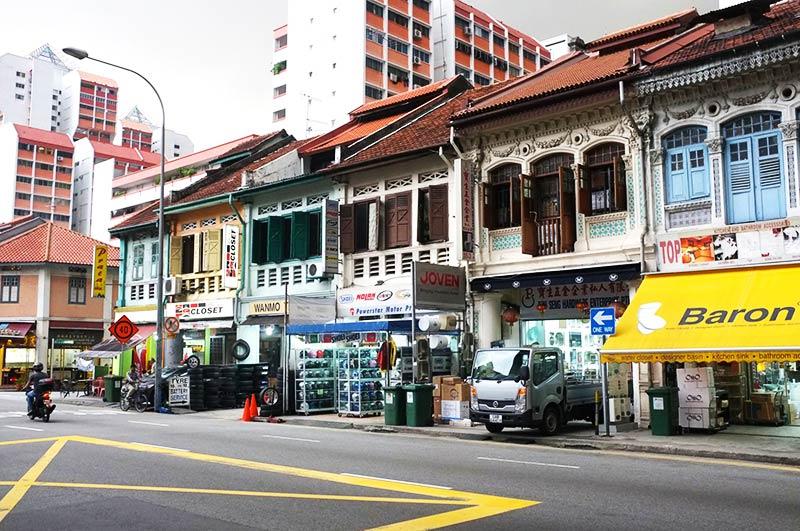 خیابان های سنگاپور