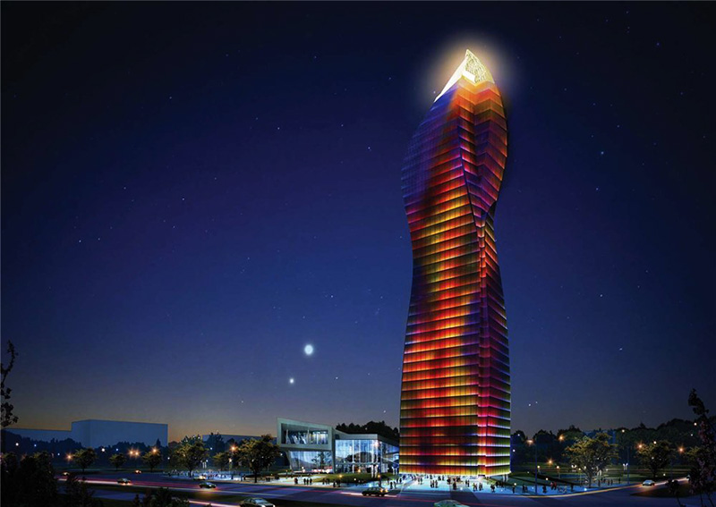 بلندترین برج باکو