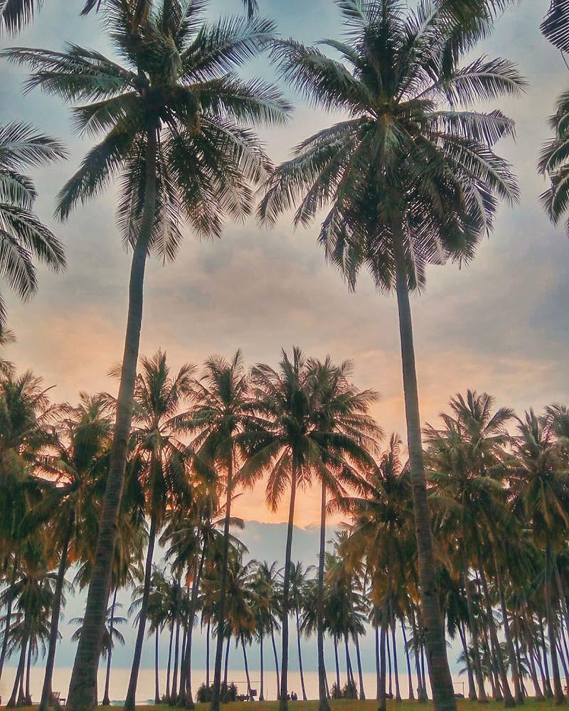 غروب خورشید در لومبوک   لومبوک در اندونزی لومبوک در انونزی