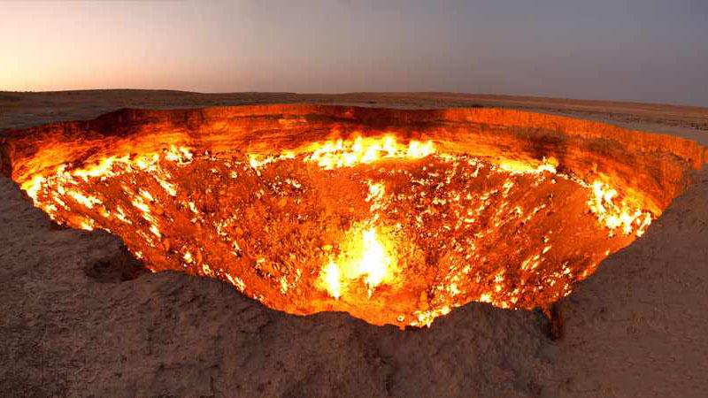 دروازه جهنم ترکمنستان