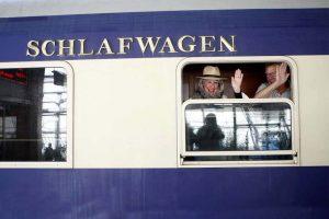 قطار عقاب لوکس طلایی | گردشگری