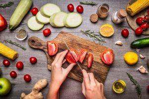 گیاه خواری در سفر