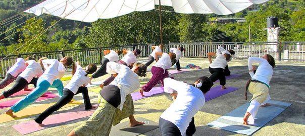 آموزش یوگا در هند