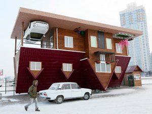ساختمان برعکس