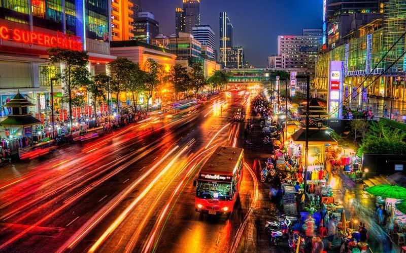 شب های زیبای بانکوک