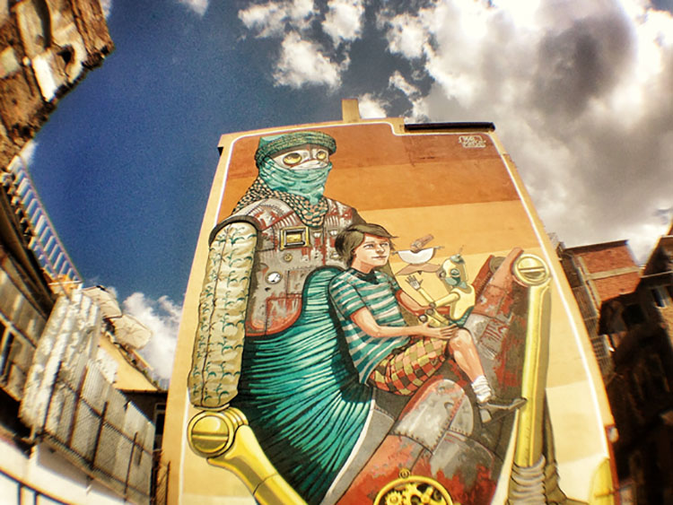 هنر خیابانی استانبول