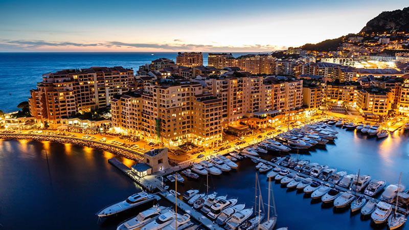کشور زیبای موناکو