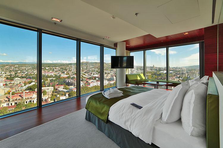 اتاق هتل رادیسون بلو ایوریا