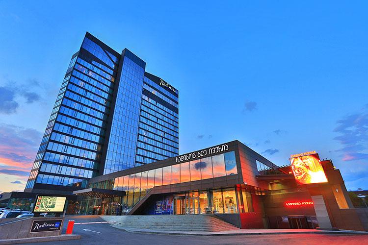 هتل رادیسون بلو ایوریا