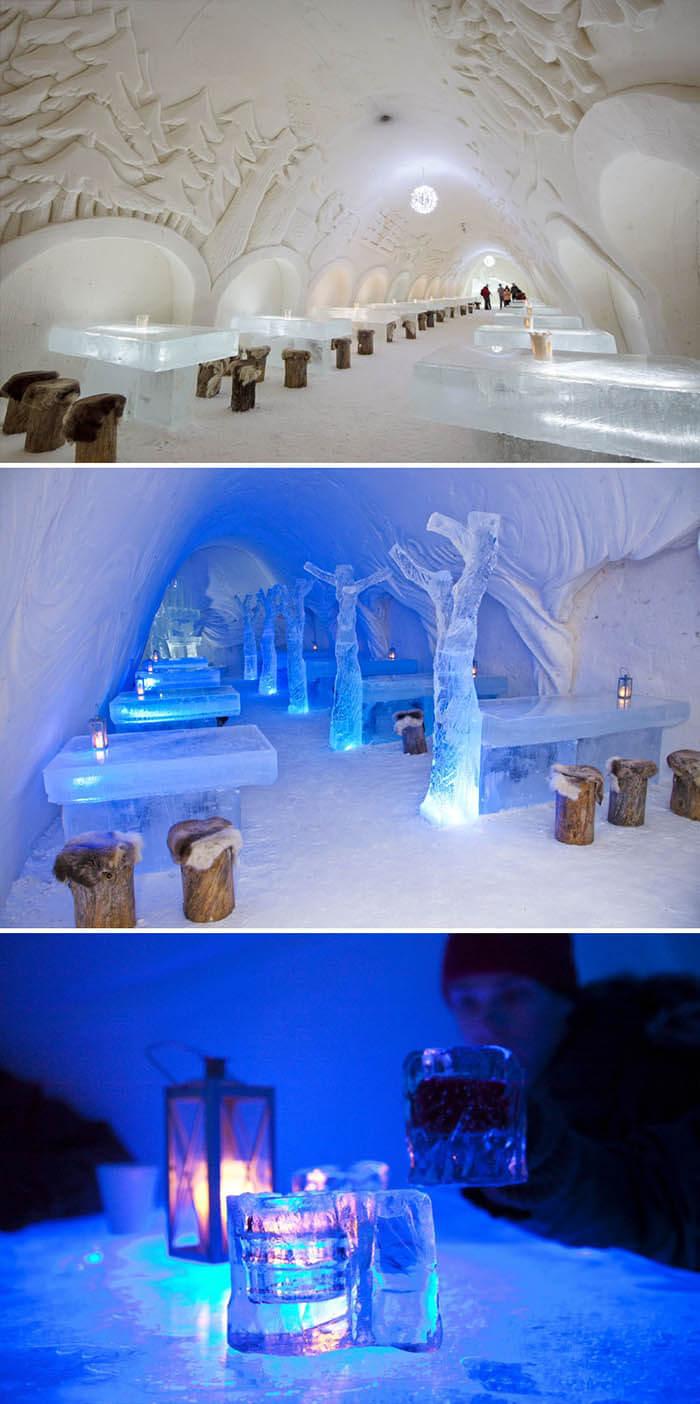رستوران Snowcastle Of Kemi