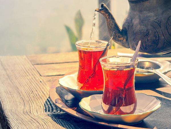 درست کردن چای ترکی
