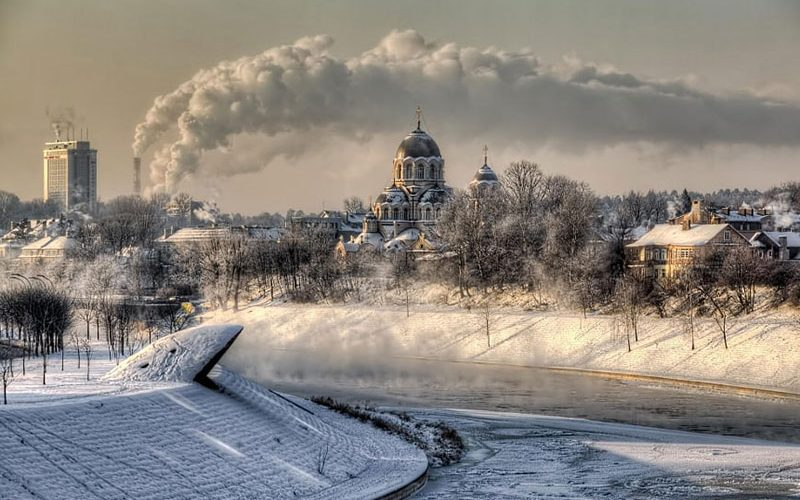 ویلنیوس در زمستان