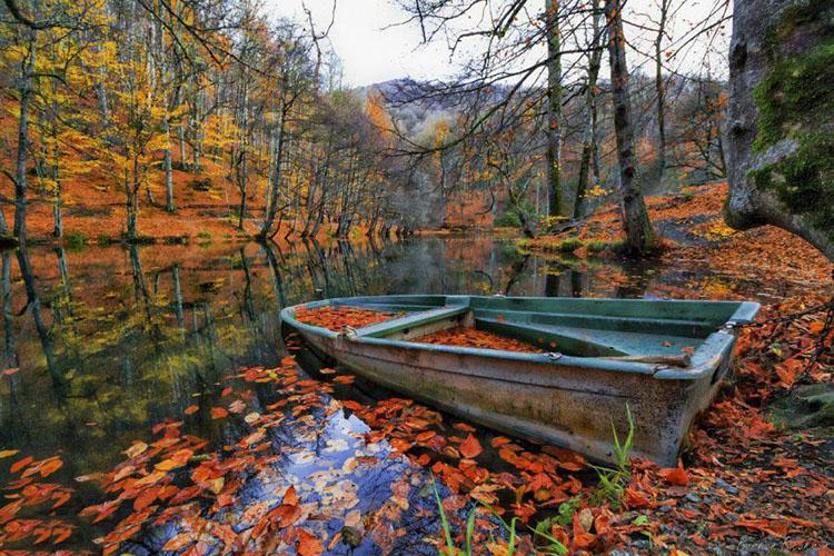 پاییز پارک ملی هفت دریاچه ترکیه