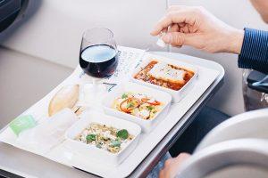 مزه غذای هواپیما
