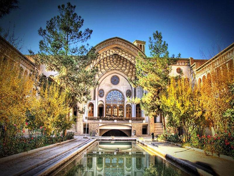 خانه تاریخی عامری ها در کاشان